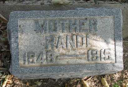 LEWISON, RANDI - Union County, South Dakota | RANDI LEWISON - South Dakota Gravestone Photos