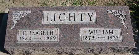 LICHTY, ELIZABETH - Union County, South Dakota | ELIZABETH LICHTY - South Dakota Gravestone Photos