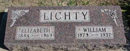 LICHTY, ELIZABETH - Union County, South Dakota | ELIZABETH LICHTY - South Dakota Gravestone Photos
