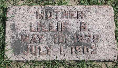 LILLEY, LILLIE B. - Union County, South Dakota | LILLIE B. LILLEY - South Dakota Gravestone Photos