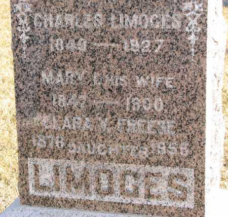 LIMOGES, CHARLES - Union County, South Dakota | CHARLES LIMOGES - South Dakota Gravestone Photos