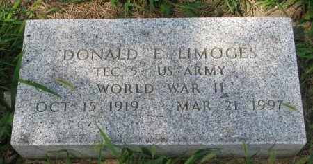 LIMOGES, DONALD E. - Union County, South Dakota | DONALD E. LIMOGES - South Dakota Gravestone Photos