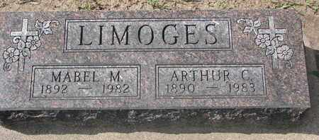 LIMOGES, ARTHUR C. - Union County, South Dakota | ARTHUR C. LIMOGES - South Dakota Gravestone Photos