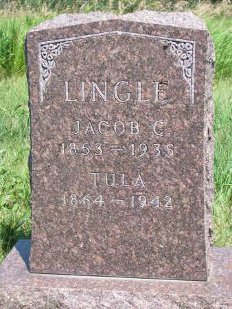 LINGLE, JACOB CHARLES - Union County, South Dakota | JACOB CHARLES LINGLE - South Dakota Gravestone Photos
