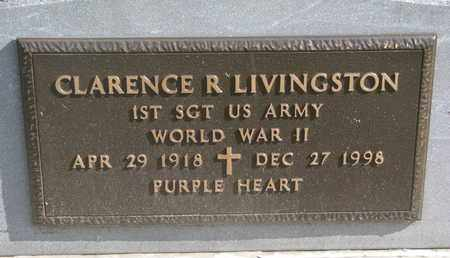 LINVINGSTON, CLARENCE R. (WORLD WAR II) - Union County, South Dakota | CLARENCE R. (WORLD WAR II) LINVINGSTON - South Dakota Gravestone Photos