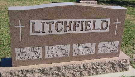 LITCHFIELD, CHRISTINE - Union County, South Dakota   CHRISTINE LITCHFIELD - South Dakota Gravestone Photos