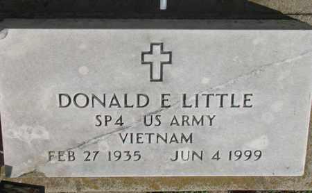 LITTLE, DONALD E. (VIETNAM) - Union County, South Dakota | DONALD E. (VIETNAM) LITTLE - South Dakota Gravestone Photos