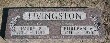 LIVINGSTON, HARRY B. - Union County, South Dakota | HARRY B. LIVINGSTON - South Dakota Gravestone Photos