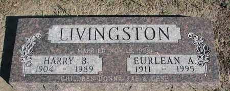 LIVINGSTON, HARRY B. - Union County, South Dakota | HARRY B. LIVINGSTON - South Dakota Gravestone Photos