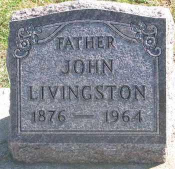 LIVINGSTON, JOHN - Union County, South Dakota   JOHN LIVINGSTON - South Dakota Gravestone Photos