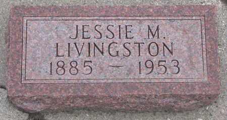 LIVINGSTON, JESSIE M. - Union County, South Dakota   JESSIE M. LIVINGSTON - South Dakota Gravestone Photos