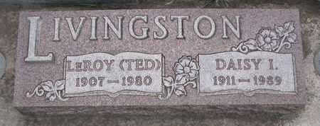 LIVINGSTON, DAISY I. - Union County, South Dakota | DAISY I. LIVINGSTON - South Dakota Gravestone Photos
