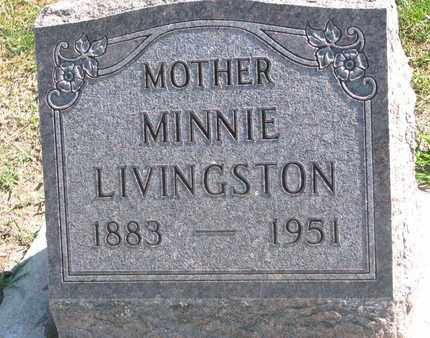 LIVINGSTON, MINNIE - Union County, South Dakota | MINNIE LIVINGSTON - South Dakota Gravestone Photos