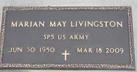 LIVINGSTON, MARIAN MAY (MILITARY) - Union County, South Dakota | MARIAN MAY (MILITARY) LIVINGSTON - South Dakota Gravestone Photos