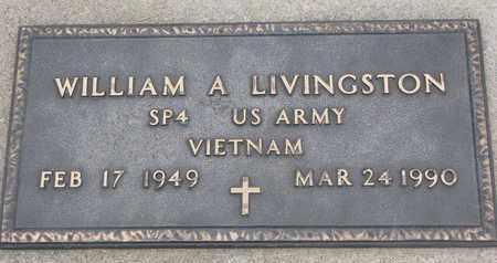 LIVINGSTON, WILLIAM A. (VIETNAM) - Union County, South Dakota | WILLIAM A. (VIETNAM) LIVINGSTON - South Dakota Gravestone Photos