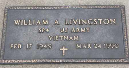 LIVINGSTON, WILLIAM A. (VIETNAM) - Union County, South Dakota | WILLIAM A. (VIETNAM) LIVINGSTON - South Dakota Gravestone Photos