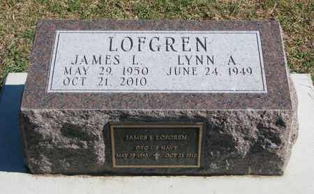 LOFGREN, JAMES L. - Union County, South Dakota   JAMES L. LOFGREN - South Dakota Gravestone Photos