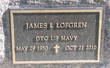 LOFGREN, JAMES L. (MILITARY) - Union County, South Dakota | JAMES L. (MILITARY) LOFGREN - South Dakota Gravestone Photos