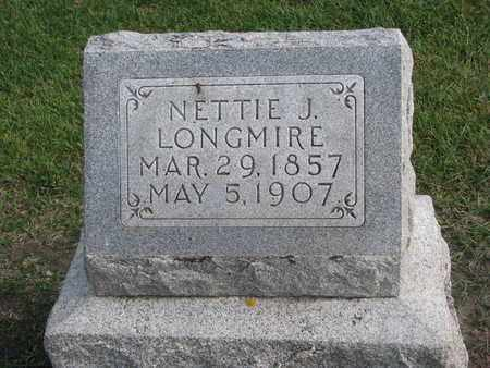 LONGMIRE, NETTIE J. - Union County, South Dakota | NETTIE J. LONGMIRE - South Dakota Gravestone Photos