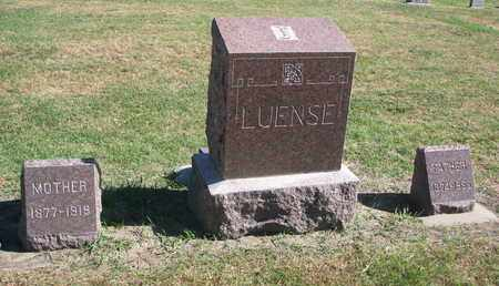 LUENSE, PLOT - Union County, South Dakota   PLOT LUENSE - South Dakota Gravestone Photos