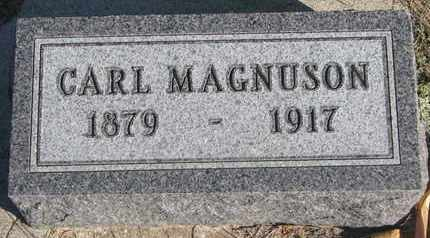 MAGNUSON, CARL - Union County, South Dakota | CARL MAGNUSON - South Dakota Gravestone Photos