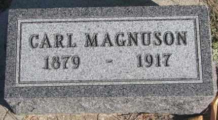 MAGNUSON, CARL - Union County, South Dakota | CARL MAGNUSON - South Dakota Gravestone Photos