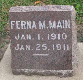 MAIN, FERNA M. - Union County, South Dakota | FERNA M. MAIN - South Dakota Gravestone Photos