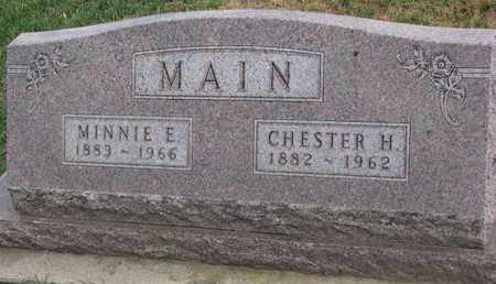 MAIN, CHESTER H. - Union County, South Dakota | CHESTER H. MAIN - South Dakota Gravestone Photos