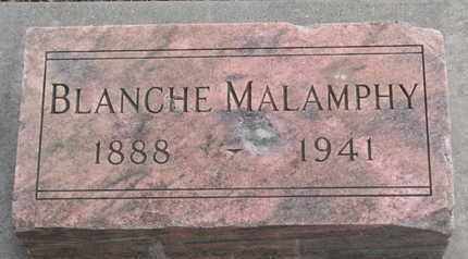 HASSON MALAMPHY, BLANCHE - Union County, South Dakota   BLANCHE HASSON MALAMPHY - South Dakota Gravestone Photos