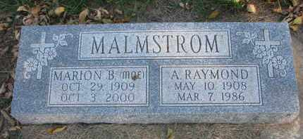 MOE MALMSTROM, MARION B. - Union County, South Dakota | MARION B. MOE MALMSTROM - South Dakota Gravestone Photos