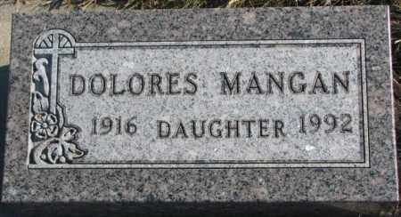 MANGAN, DOLORES - Union County, South Dakota | DOLORES MANGAN - South Dakota Gravestone Photos