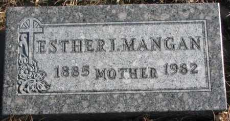 MANGAN, ESTHER I. - Union County, South Dakota | ESTHER I. MANGAN - South Dakota Gravestone Photos