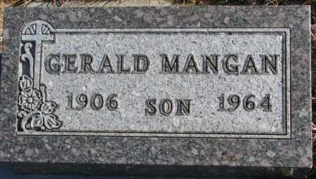 MANGAN, GERALD - Union County, South Dakota | GERALD MANGAN - South Dakota Gravestone Photos