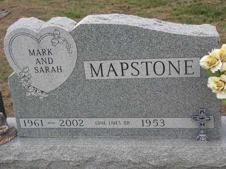 MAPSTONE, SARAH - Union County, South Dakota | SARAH MAPSTONE - South Dakota Gravestone Photos