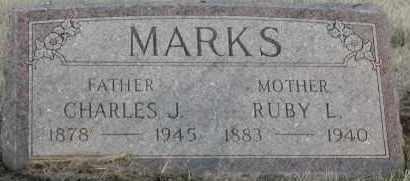MARKS, CHARLES J - Union County, South Dakota   CHARLES J MARKS - South Dakota Gravestone Photos