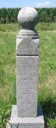 MARPLE, CORA E - Union County, South Dakota | CORA E MARPLE - South Dakota Gravestone Photos