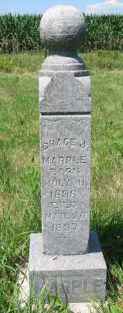 MARPLE, GRACE J - Union County, South Dakota   GRACE J MARPLE - South Dakota Gravestone Photos