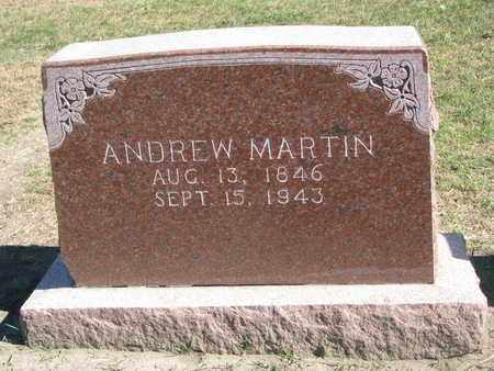 MARTIN, ANDREW - Union County, South Dakota | ANDREW MARTIN - South Dakota Gravestone Photos