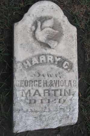 MARTIN, HARRY C. - Union County, South Dakota | HARRY C. MARTIN - South Dakota Gravestone Photos