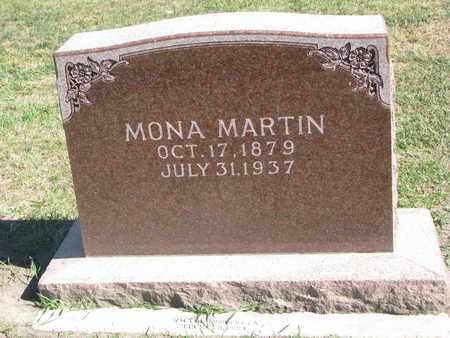 MARTIN, MONA - Union County, South Dakota | MONA MARTIN - South Dakota Gravestone Photos