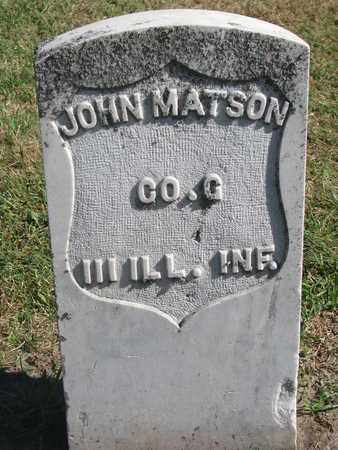 MATSON, JOHN - Union County, South Dakota | JOHN MATSON - South Dakota Gravestone Photos