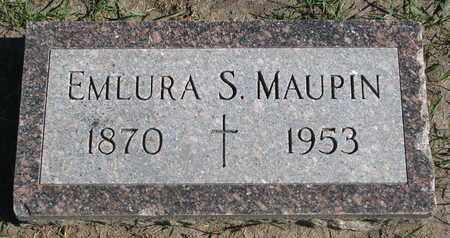 MAUPIN, EMLURA S. - Union County, South Dakota | EMLURA S. MAUPIN - South Dakota Gravestone Photos