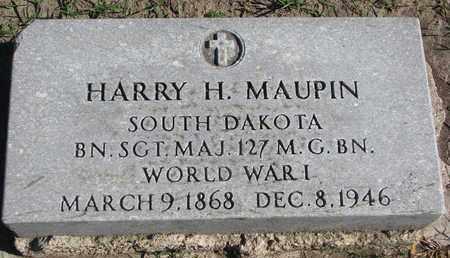 MAUPIN, HARRY H. - Union County, South Dakota   HARRY H. MAUPIN - South Dakota Gravestone Photos