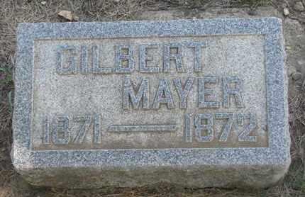 MAYER, GILBERT - Union County, South Dakota | GILBERT MAYER - South Dakota Gravestone Photos