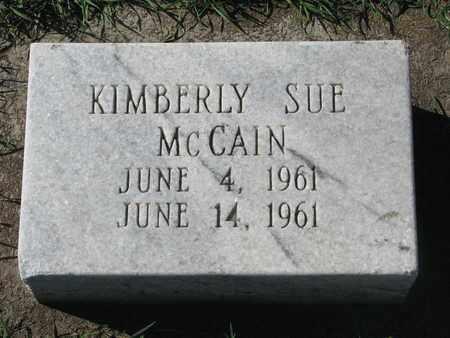 MCCAIN, KIMBERLY SUE - Union County, South Dakota | KIMBERLY SUE MCCAIN - South Dakota Gravestone Photos