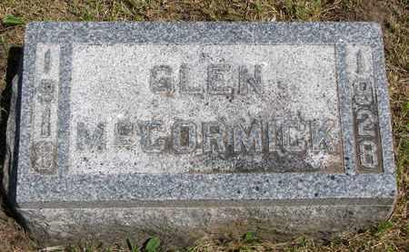 MCCORMICK, GLEN - Union County, South Dakota | GLEN MCCORMICK - South Dakota Gravestone Photos