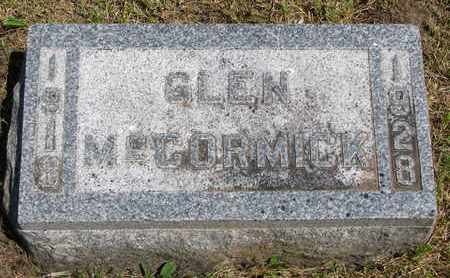 MCCORMICK, GLEN - Union County, South Dakota | GLEN MCCORMICK - South Dakota Gravestone Photos