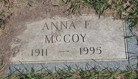 MCCOY, ANNA F. - Union County, South Dakota | ANNA F. MCCOY - South Dakota Gravestone Photos