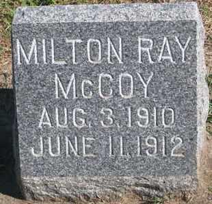 MCCOY, MILTON RAY - Union County, South Dakota | MILTON RAY MCCOY - South Dakota Gravestone Photos