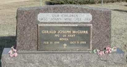 "MCGUIRE, GERALD ""JERRY"" JOSEPH (SERVICE) - Union County, South Dakota | GERALD ""JERRY"" JOSEPH (SERVICE) MCGUIRE - South Dakota Gravestone Photos"